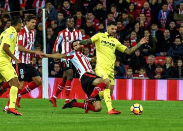 Aduriz rescata al Athletic de la red del Villarreal
