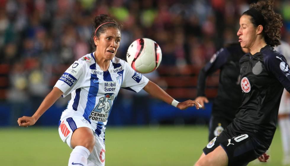 b03ee76ce8bd9 Liga MX femenil  Pachuca vence 2-0 a las Chivas en la final de ida ...