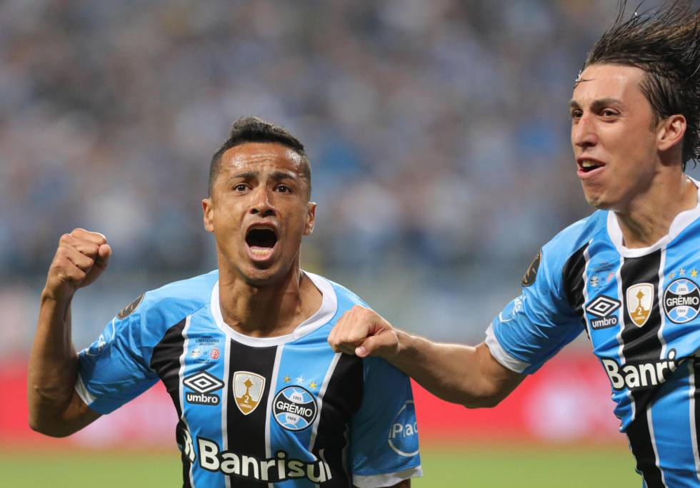 Gremio gana 1-0 la primera final de la Copa Libertadores 2017 ante Lanús f46519204f415