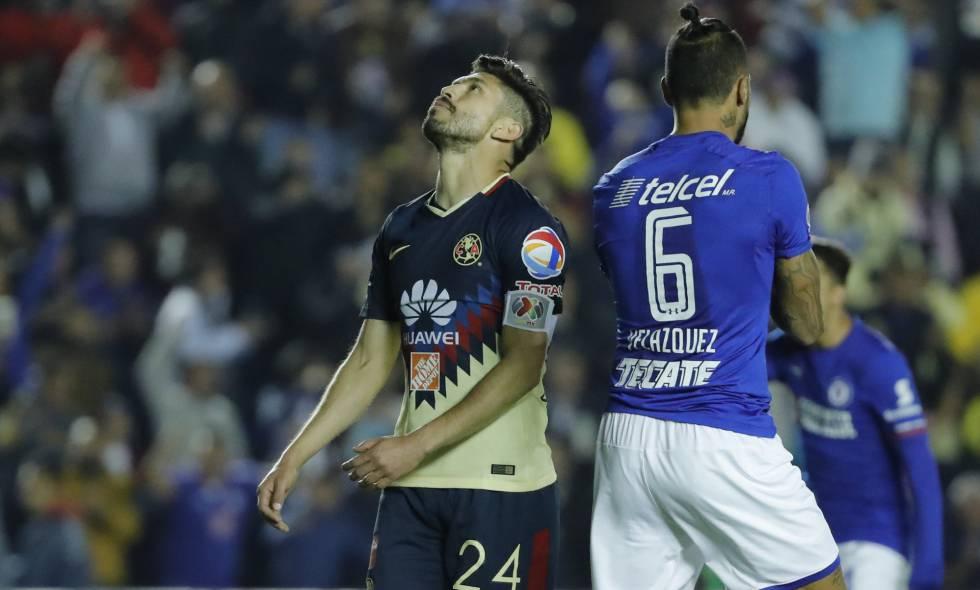 0940ac89a41 Cruz Azul desperdicia la ida de cuartos de final frente al América (0-0)