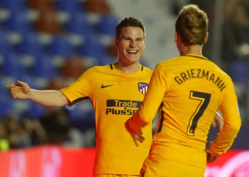 El Atlético de Madrid atropella al Levante (0-5)