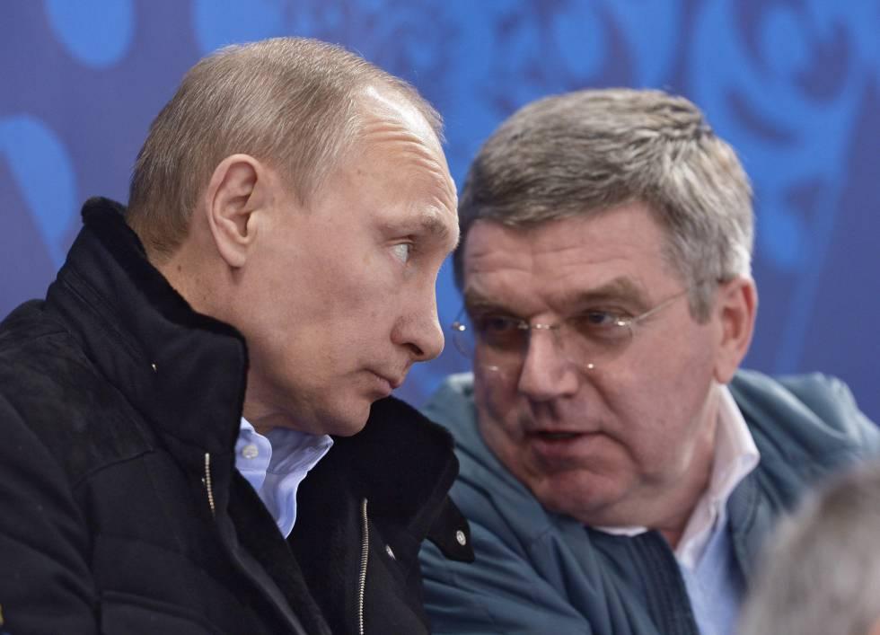 El COI prohíbe a Rusia participar en los Juegos de Pyeongchang, pero ...