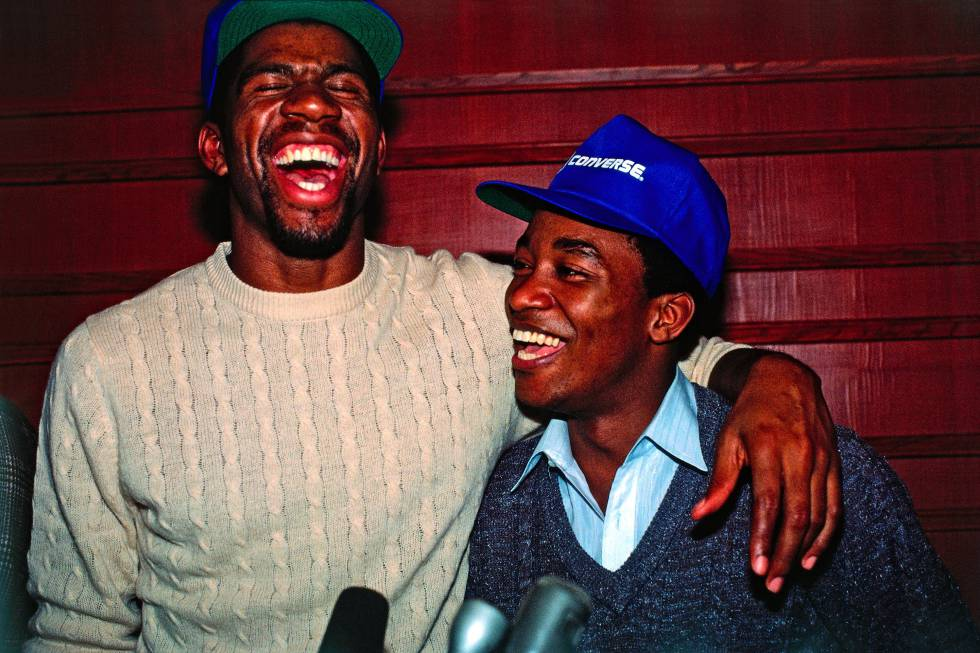 Magic Johnson Isiah Thomas bisexuell