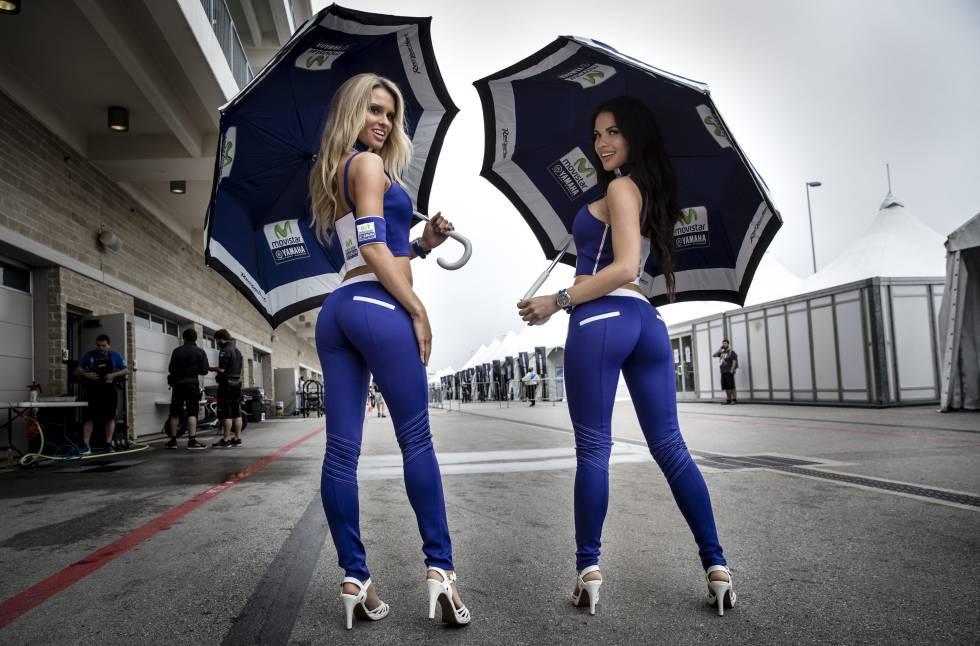 ¿Y lo bien que sujetan el paraguas, qué?