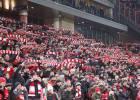 Muere un 'ertzaina' tras los enfrentamientos contra los ultras del Spartak en San Mamés