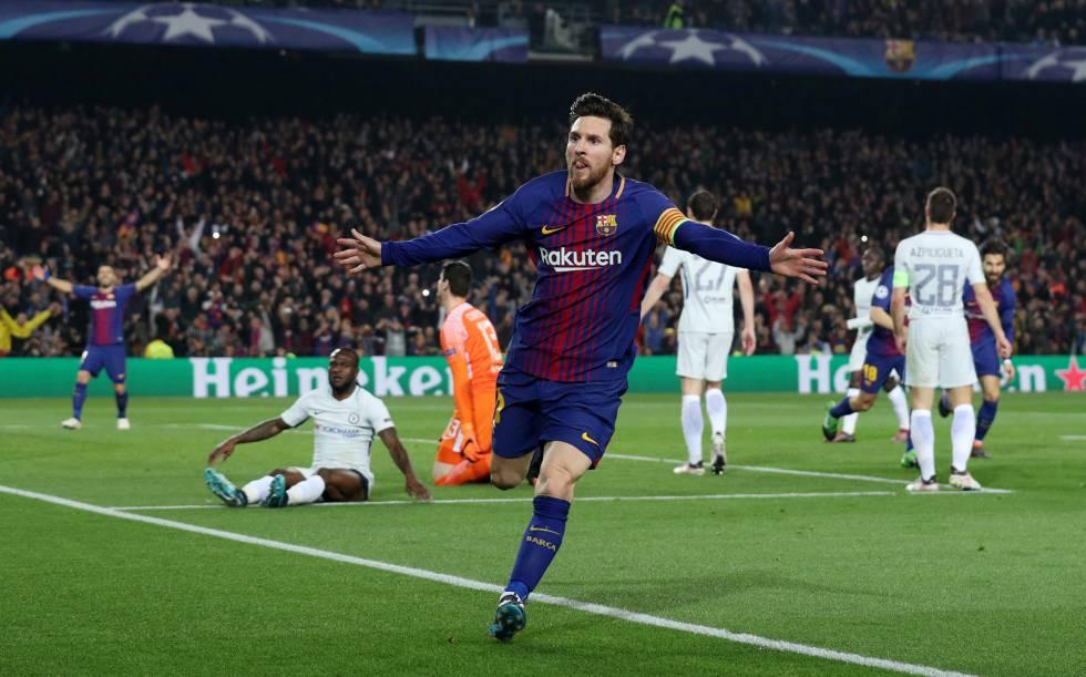 e6a1a74a921d El Barcelona elimina al Chelsea con un matador Messi | Deportes | EL ...