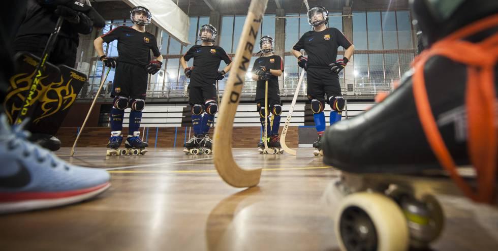 La implantación del casco agita el hockey patines