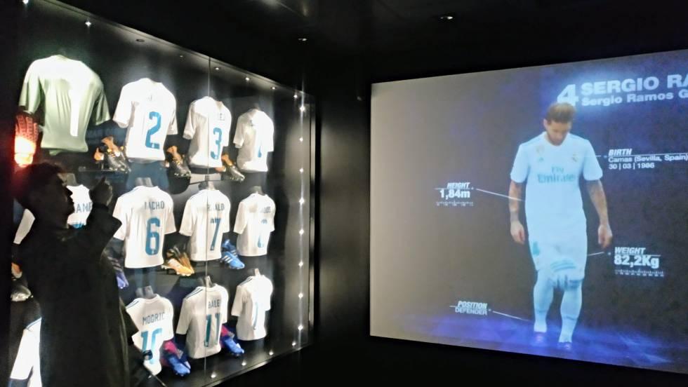 Museo Real Madrid.Aqui Colocara El Madrid La Decimotercera Champions Si La Gana