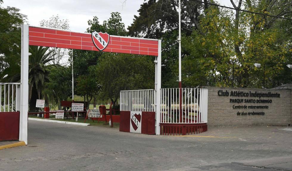 Sede del Club Atlético Independiente en Buenos Aires.