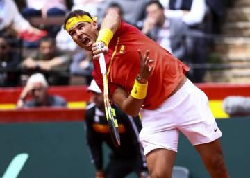 891b3b02b1e1 Copa Davis: Nadal ruge ante Zverev, Ferrer tiene la llave   Deportes ...
