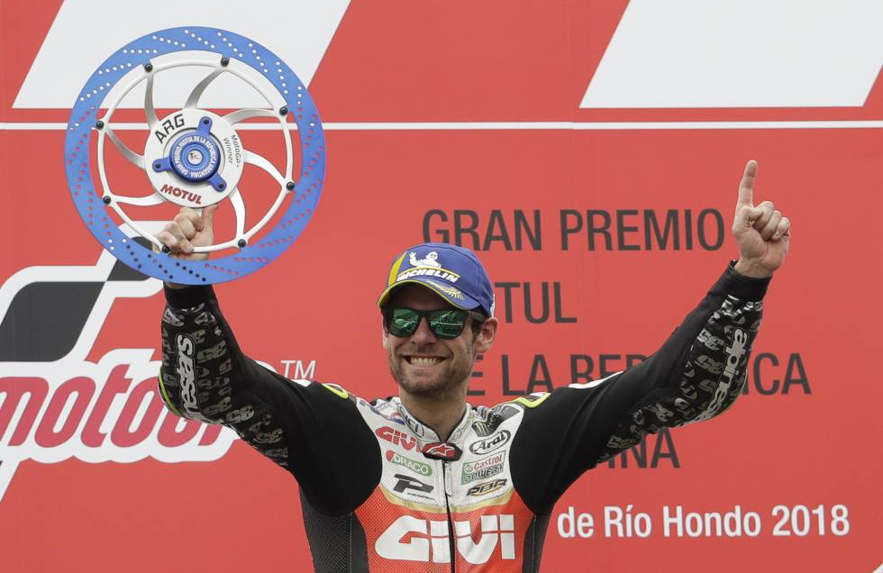 Resultado de imagen para Cal CRUTCHLOW moto gp argentina