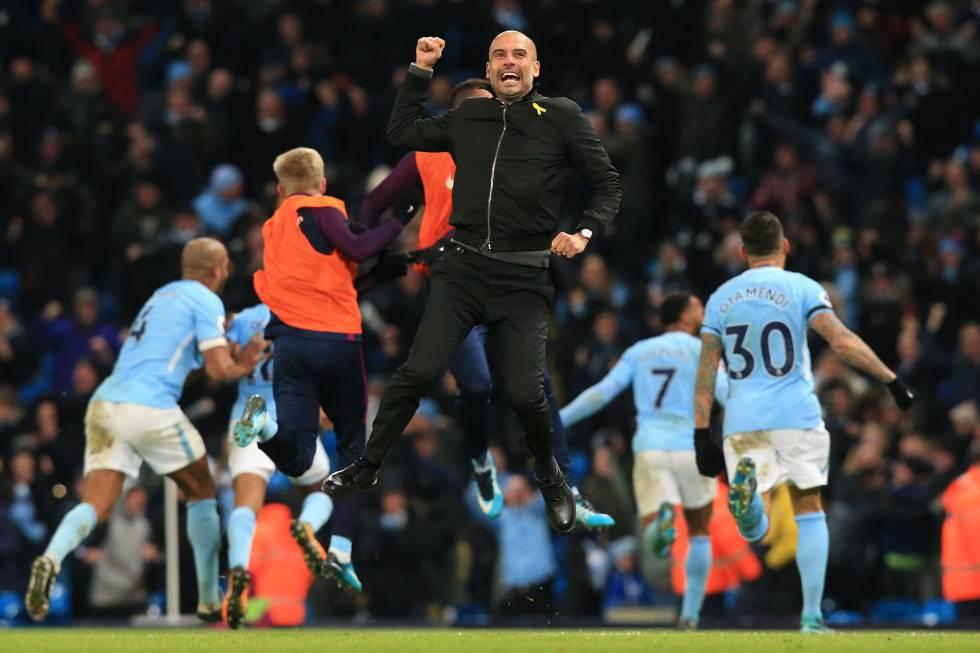 El Manchester City de Guardiola conquista la Premier a ritmo de ...