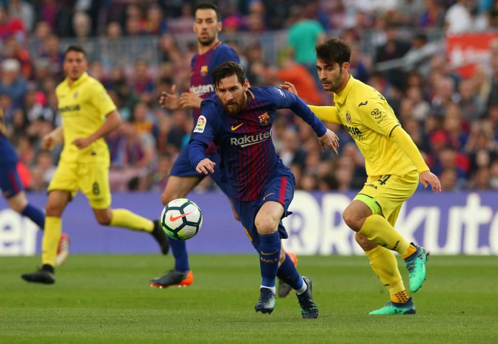 1c191df4e46f5 El Barcelona golea al Villarreal en el Camp Nou