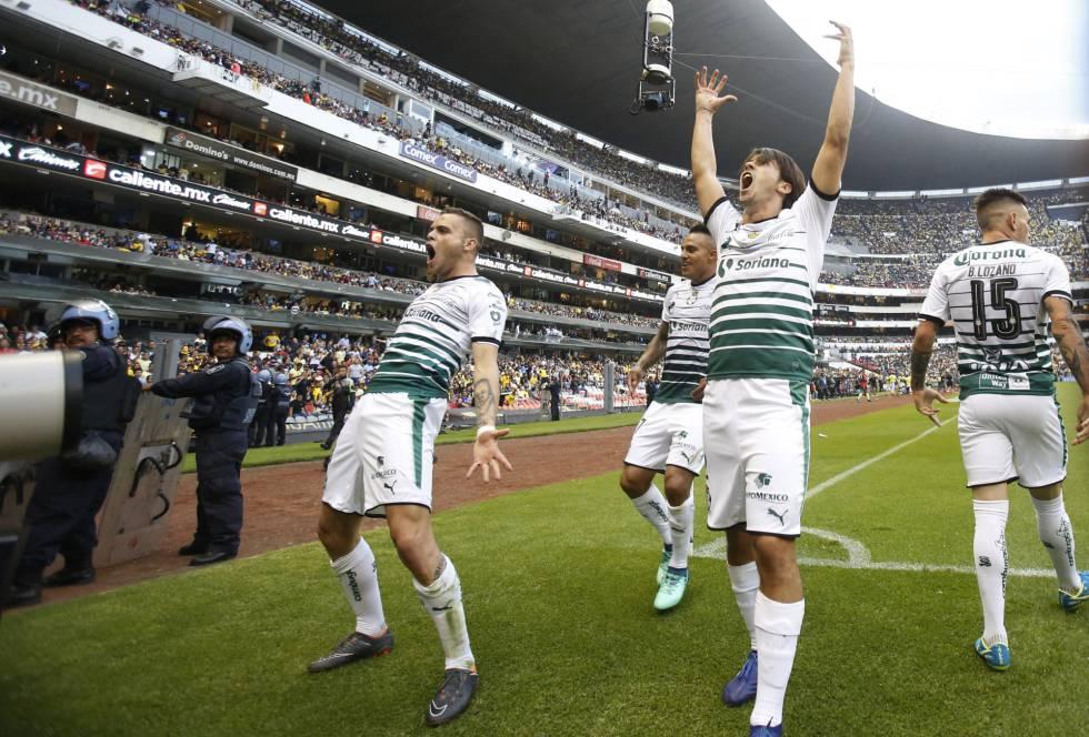 Santos Laguna Tritura Al América Para Meterse A La Final De La Liga