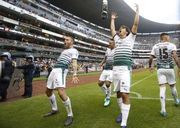 Santos Laguna tritura al América para meterse a la final de la Liga MX ae608b9381c0a