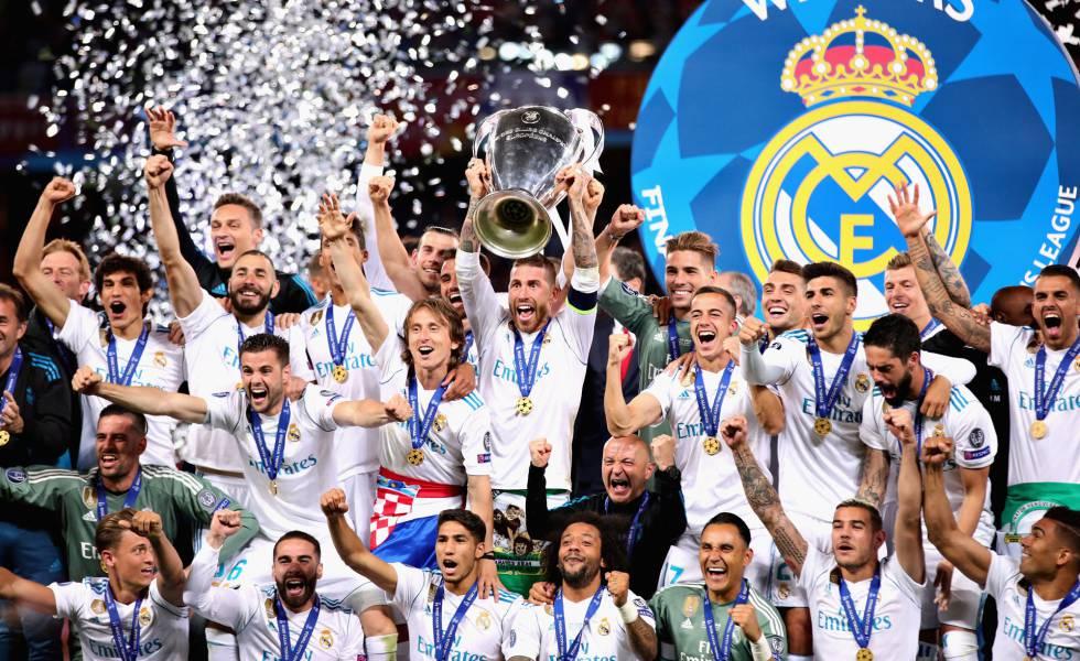 Sergio Ramos levanta la 13ª. Champions League.