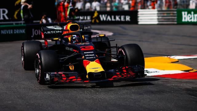 Ricciardo, en el circuito de Mónaco.