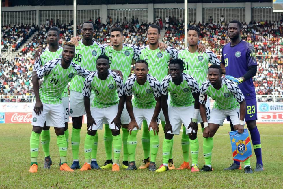 78f8f9b5d Copa do Mundo Rússia 2018  Camisa da Nigéria para a Copa sai à ...