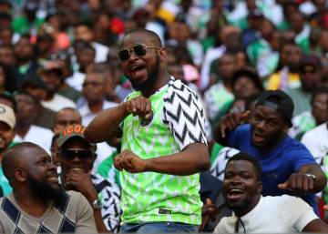 ... La camiseta de Nigeria para el Mundial arrasa  se venden tres millones  antes de que 7c343e1cca742