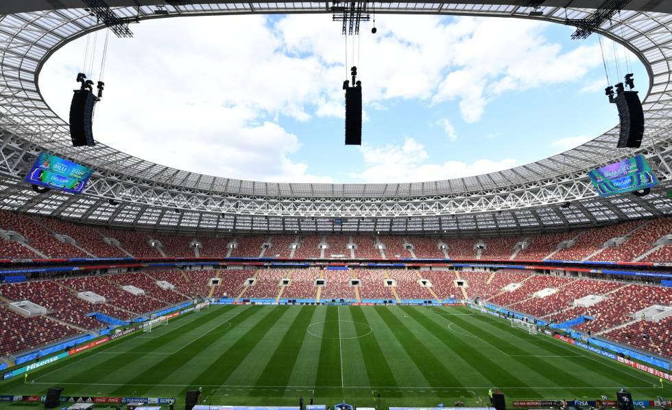 El estadio Luzhniki de Moscú acogerá el parido inaugural del Mundial 2018 entre Rusia y Arabia Saudí.
