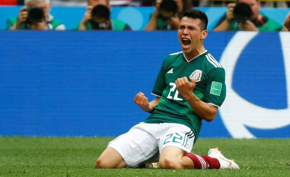 La revolución de Osorio y el 'Chucky' Lozano derroca a Alemania | Mundial  Rusia 2018 | EL PAÍS