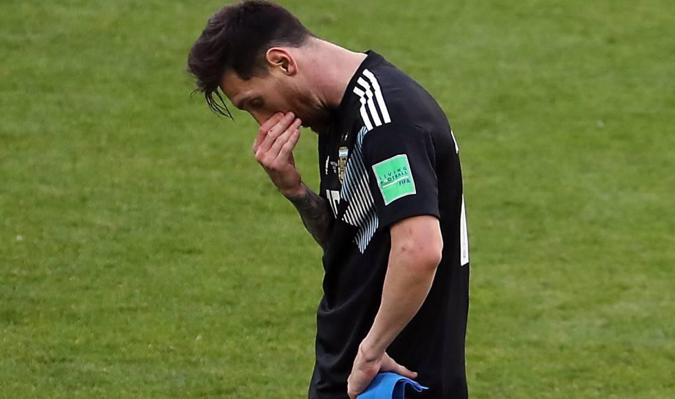 Messi ante Islandia.