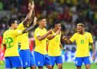 Brasil corre, toca y pasa