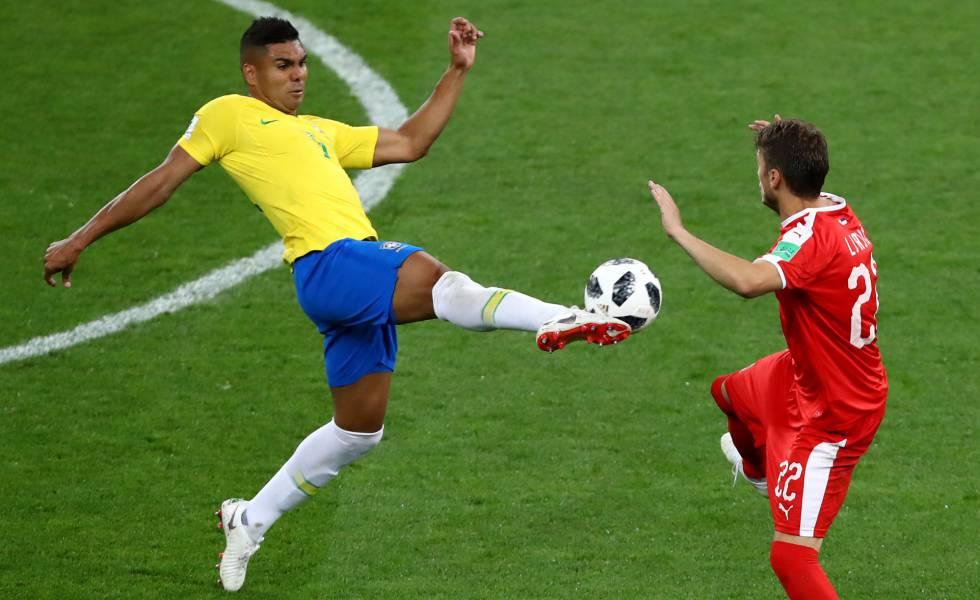 Brasil x México  Casemiro e a sustentação do Brasil de Tite ... 3ee439f997856
