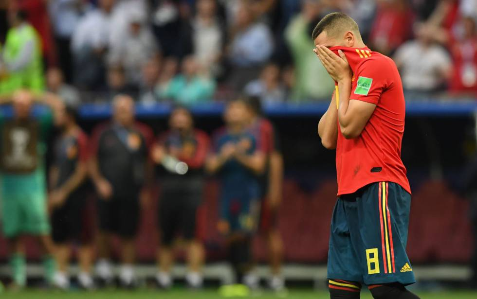España eliminada Mundial futbol