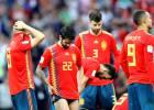 España retrocede una década