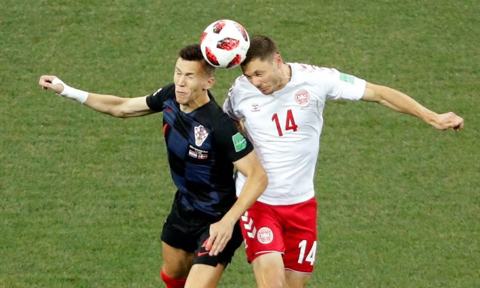Croacia elimina a Dinamarca y se clasifica para cuartos de