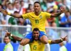 Neymar crece y Brasil se pone seria