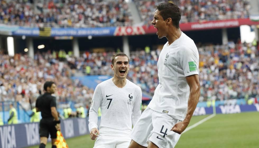 Francia elimina a Uruguay y clasifica para semifinales del Mundial ... 0e6b4af4f491f