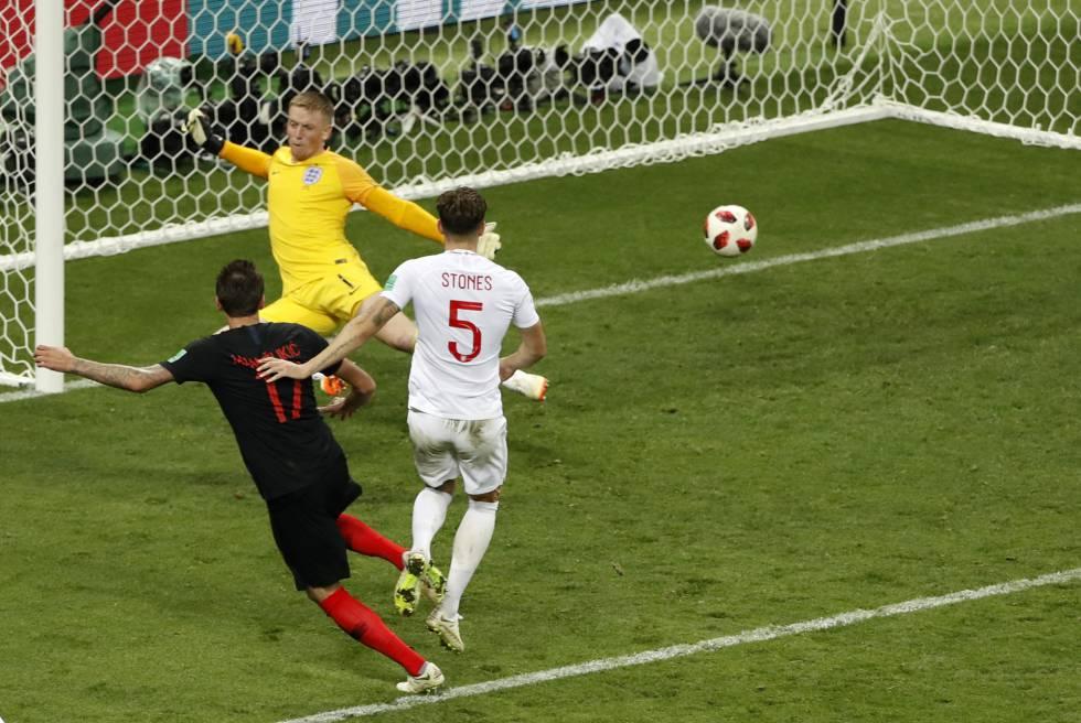 72ec77a09bdb4 Croacia derrota a Inglaterra en la prórroga y jugará la final del ...