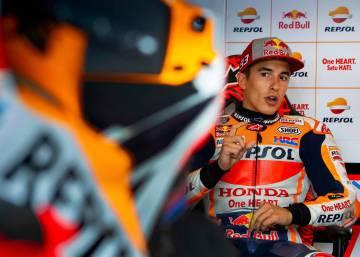 Más triunfos, pero menos 'pole' para Márquez