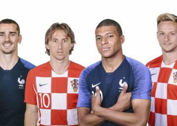 Francia-Croacia, la final de las dos Europas