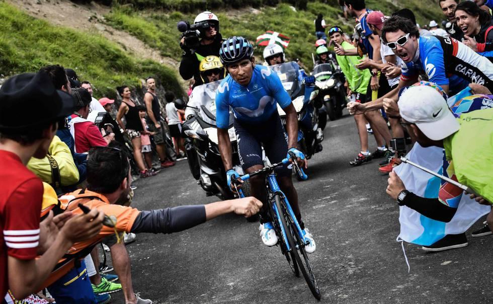 6e7c8177a Tour de Francia 2018 Ver fotogalería Nairo Quintana ...