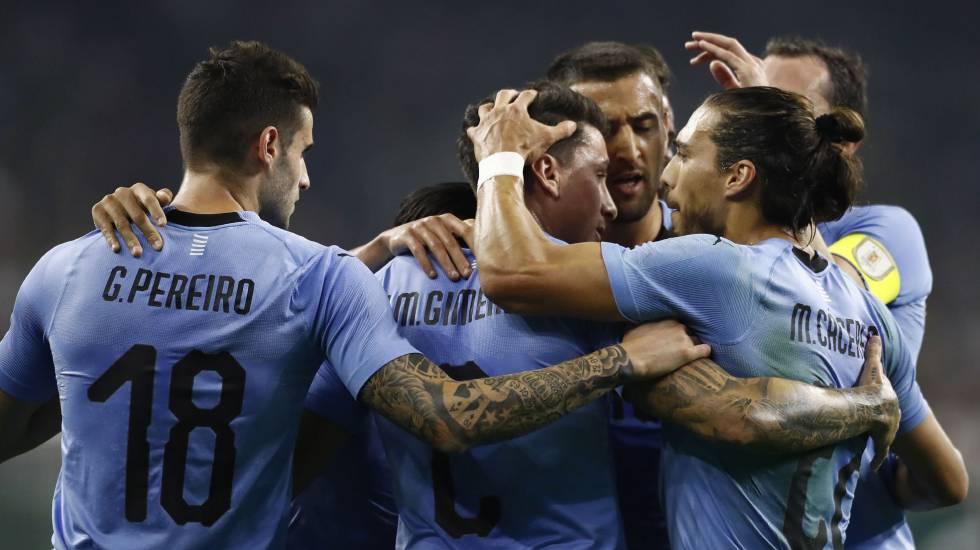 Fecha FIFA  Uruguay golea a un México en construcción (1-4 ... 2d75cd785ccca