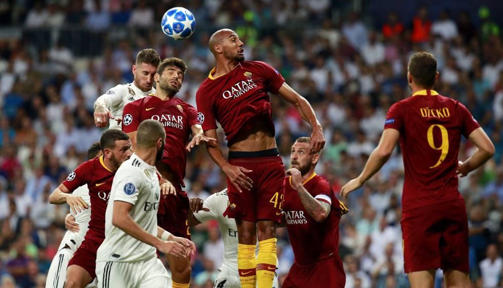 Real Madrid 3-0 Roma por la Champions League