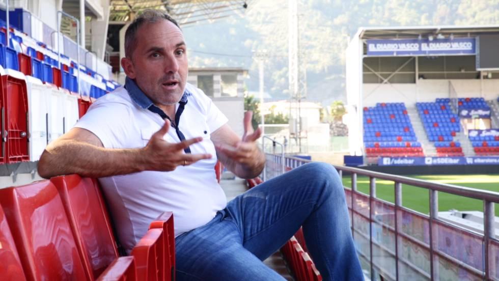 Fran Garagarza, director deportivo del Eibar, logró fichar a Takashi Inui por solo 300.000 euros en 2015.