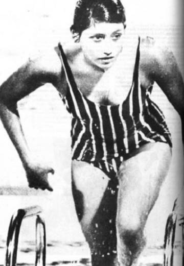 La mexicana María Teresa Ramírez en 1968.