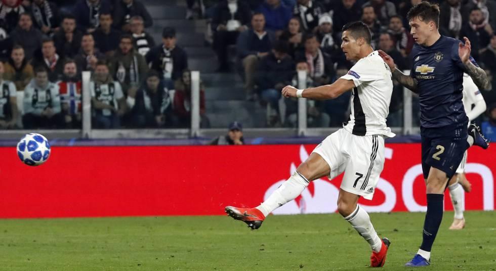 Gol de Cristiano Ronaldo al Manchester United.