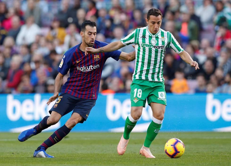 El Betis Sorprende Al Barcelona En El Camp Nou Deportes