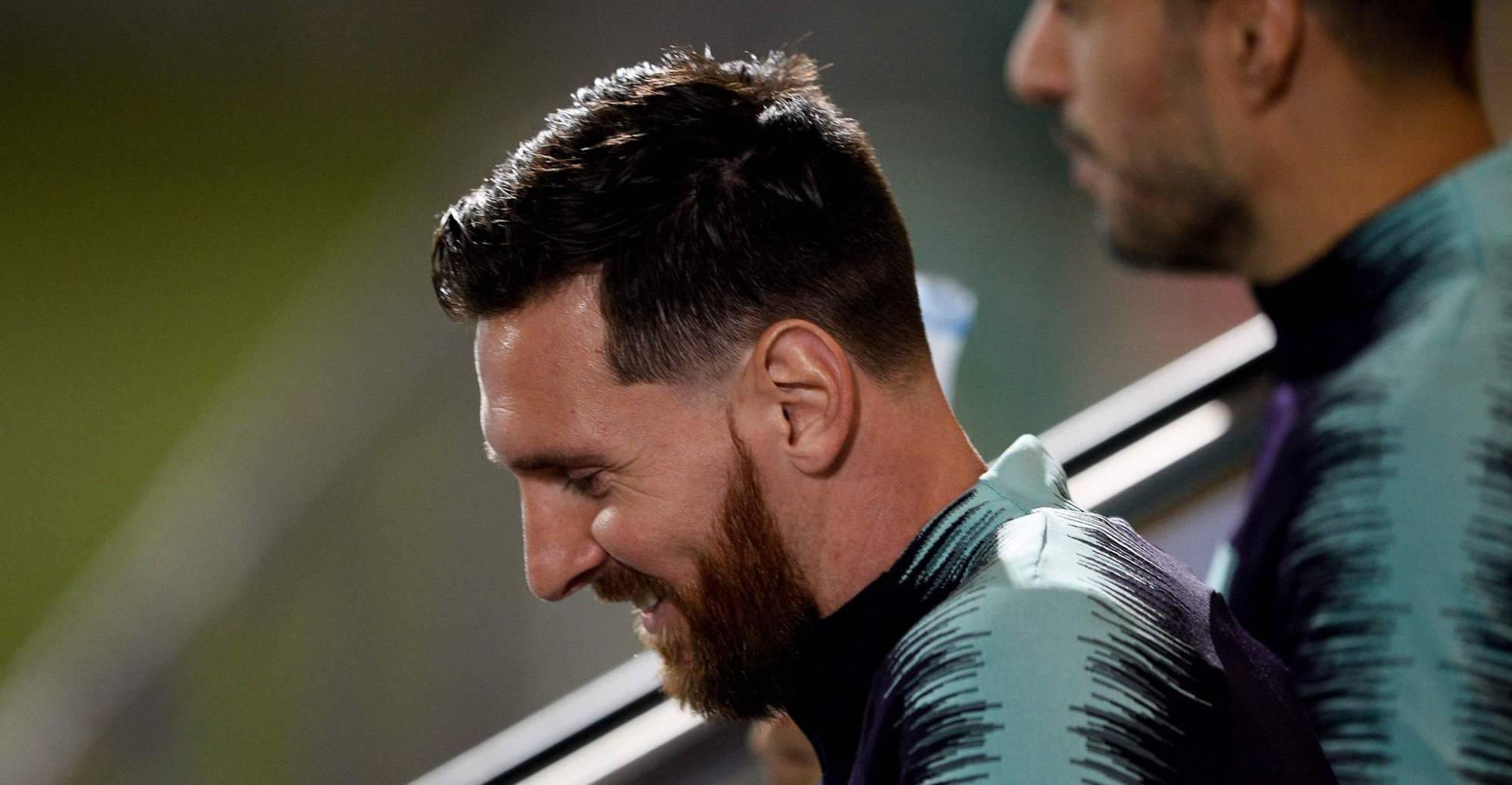 El encaje de Messi