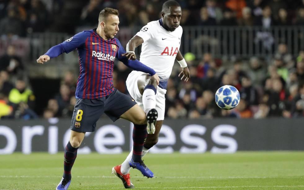 e408ef2902991 El Tottenham empata en el Camp Nou