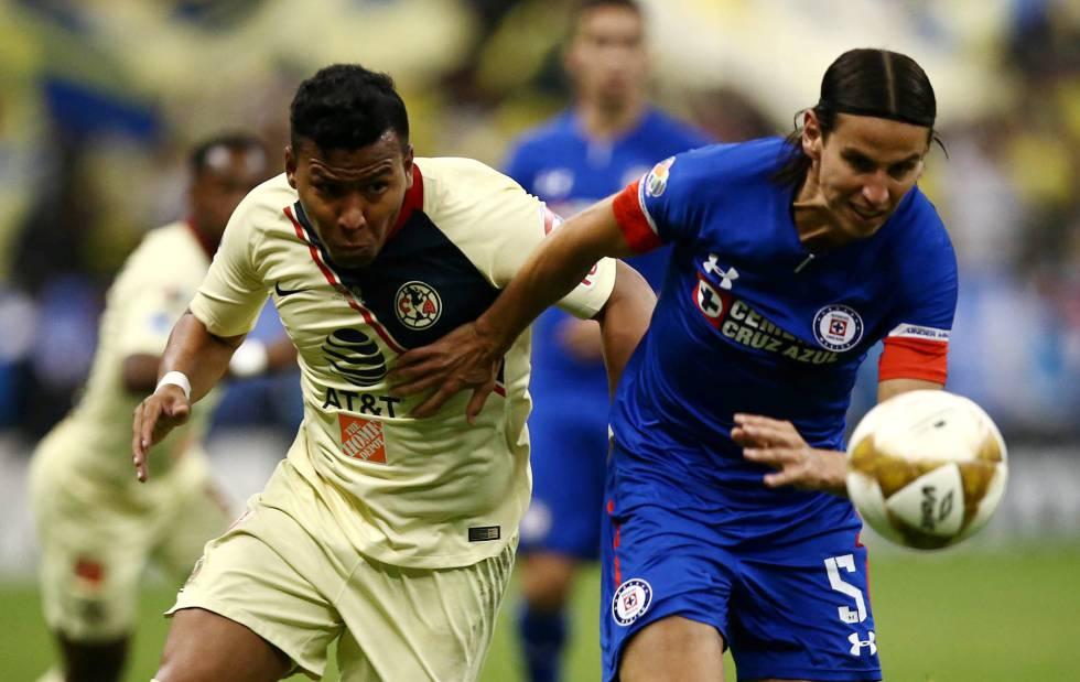a64194cbd América y Cruz Azul firman un empate sin goles en la final de ida de ...