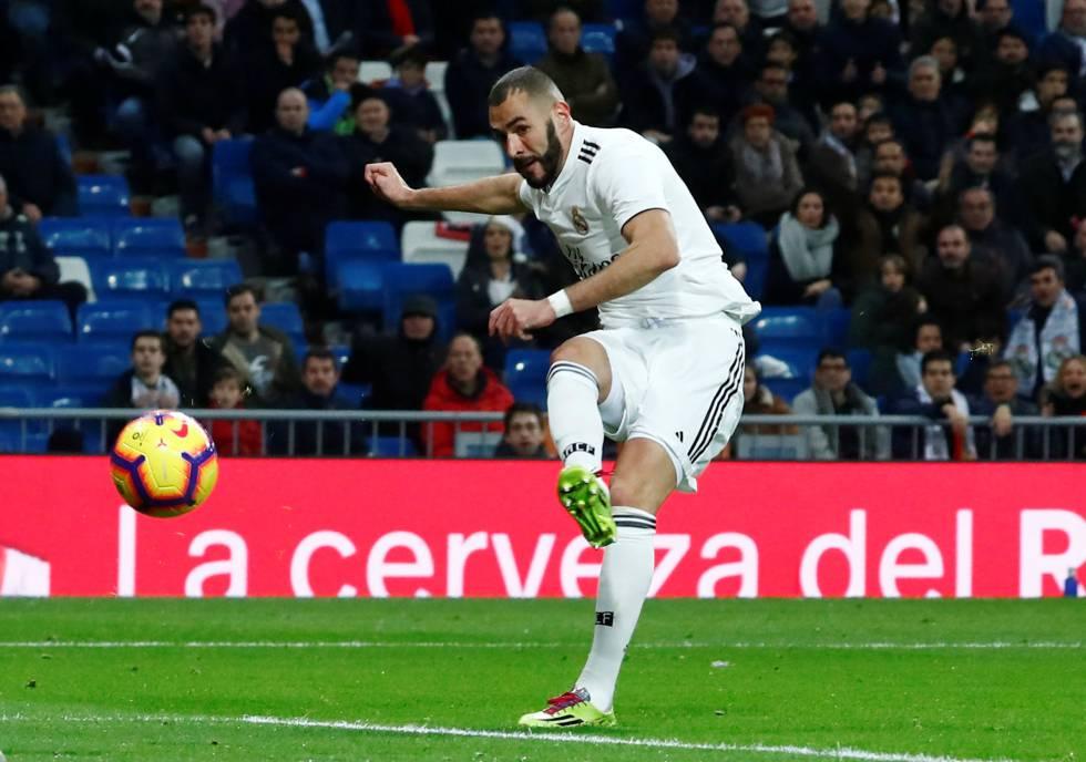 El Madrid vence por la mínima al Rayo en el Bernabéu