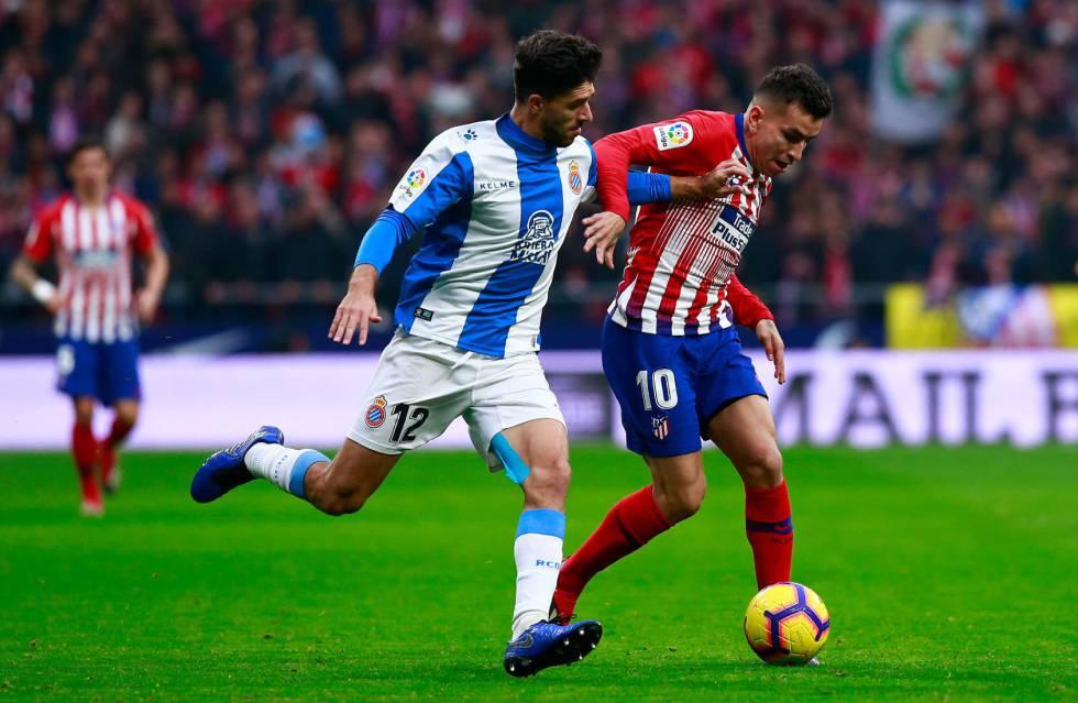 El Atlético gana al Espanyol con un gol de penalti de Griezmann ... 41ab2e6228b06