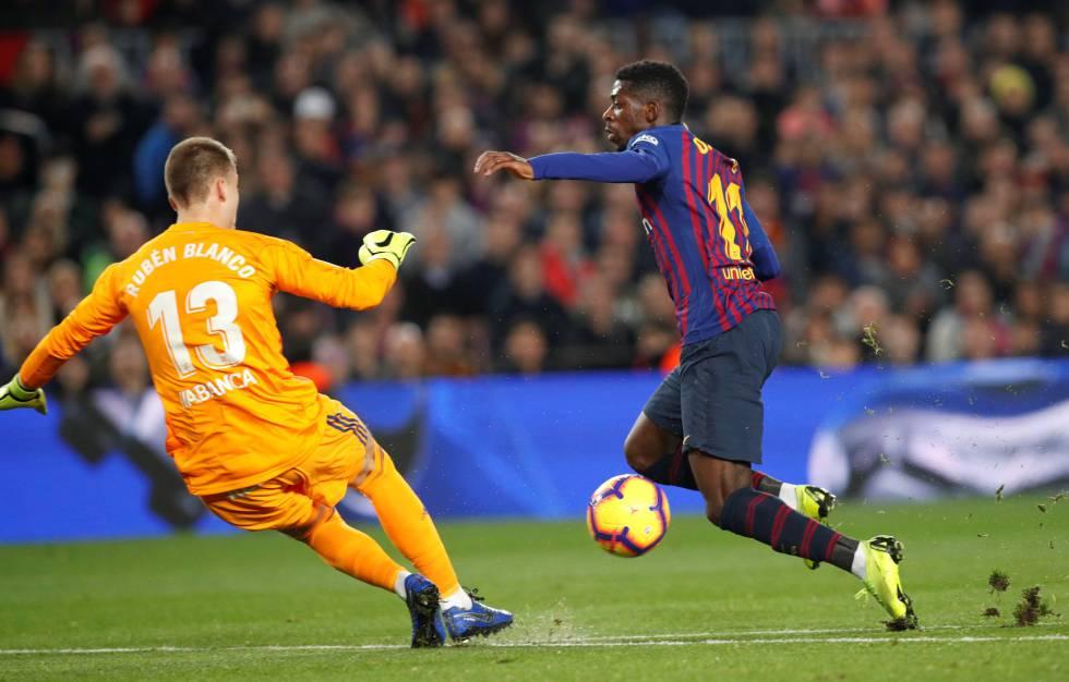 564133fe62d4e El Barcelona gana al Celta con goles de Dembélé y Messi