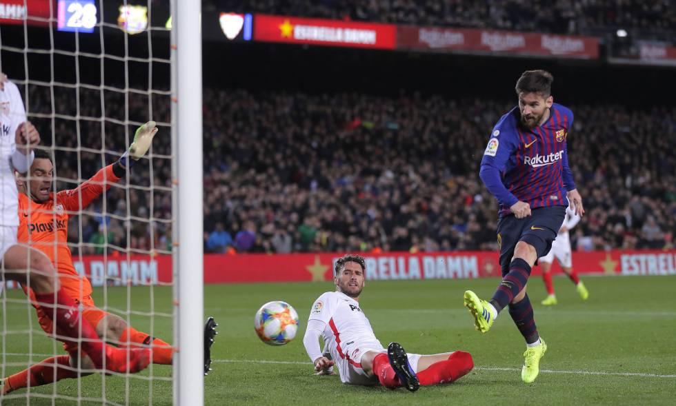 El Barça se clasifica a la semifinal de la Copa del Rey tras golear al Sevilla (6-1)